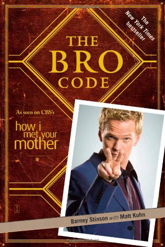Bro Code  N/A 9781439110003 Front Cover