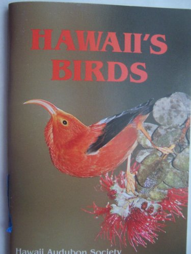 Hawaii's Birds 4th (Revised) edition cover