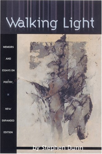 Walking Light Memoirs and Essays on Poetry  2001 (Expanded) 9781929918003 Front Cover