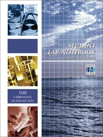 Student Lab Notebook 100 Top Bound Duplicate Pages  1999 9781930882003 Front Cover