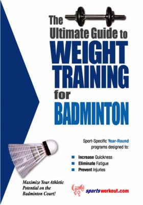 Weight Training for Badminton  N/A 9781932549003 Front Cover