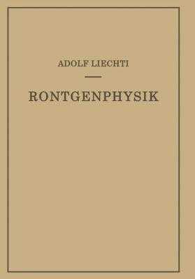 R�ntgenphysik   1939 9783709152003 Front Cover