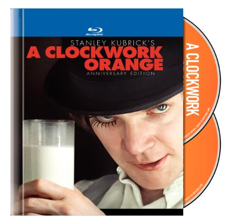 A Clockwork Orange (Two-Disc Anniversary Edition Blu-ray Book Packaging) System.Collections.Generic.List`1[System.String] artwork