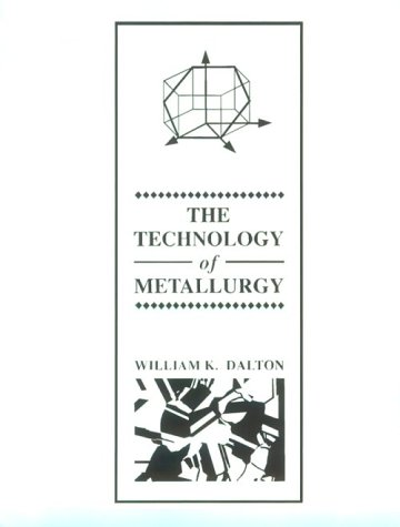 Technology of Metallurgy   1994 edition cover