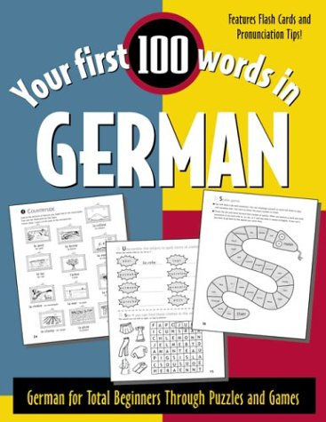 German German for Total Beginners Through Puzzles and Games  2002 edition cover