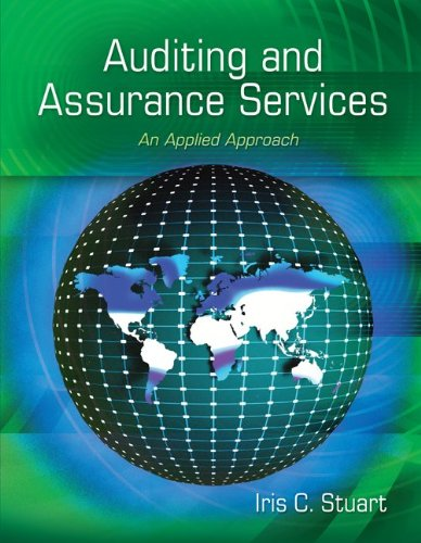 Auditing and Assurance Services An Applied Approach  2012 edition cover