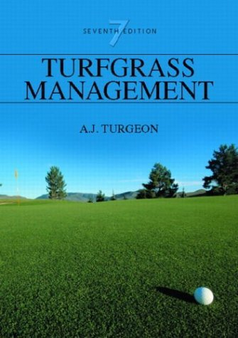 Turfgrass Management  7th 2005 (Revised) 9780131140004 Front Cover