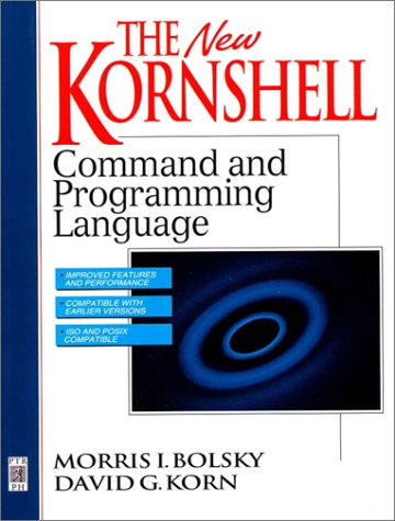 New KornShell Command and Programming Language  2nd 1995 (Revised) edition cover