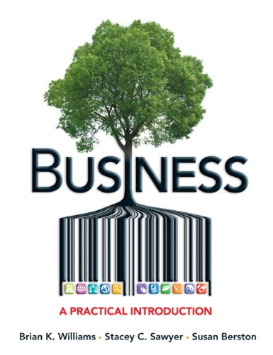 Business A Practical Introduction  2013 edition cover