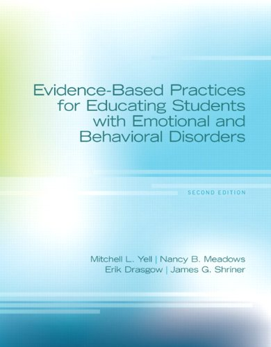Evidence-Based Practices for Educating Students with Emotional and Behavioral Disorders  2nd 2014 edition cover