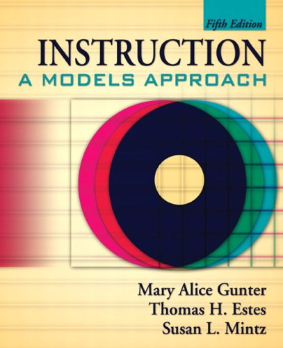 INSTRUCTION:MODELS APPROACH-PA N/A 9780135056004 Front Cover