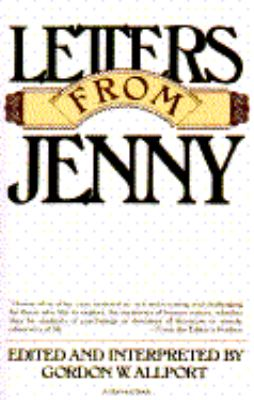 Letters from Jenny 1st edition cover