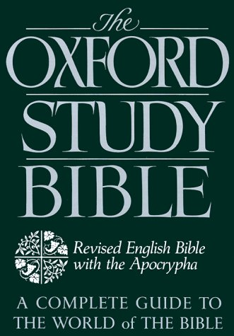 Oxford Study Bible Revised English Bible with Apocrypha Revised edition cover