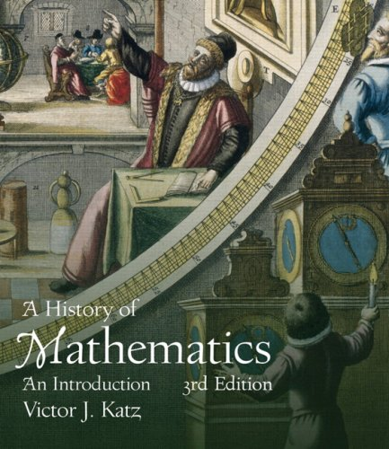 History of Mathematics An Introduction 3rd 2009 edition cover