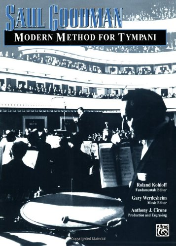 Modern Method for Tympani   2000 edition cover