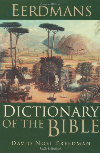 Eerdmans Dictionary of the Bible   2000 edition cover