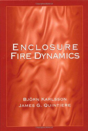 Enclosure Fire Dynamics   1999 edition cover