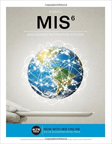 MIS  6th 2016 edition cover