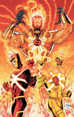 Fury of Firestorm - The Nuclear Man - God Particle   2012 9781401237004 Front Cover