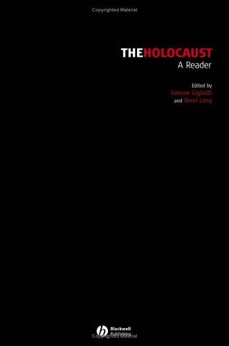 Holocaust A Reader  2005 edition cover