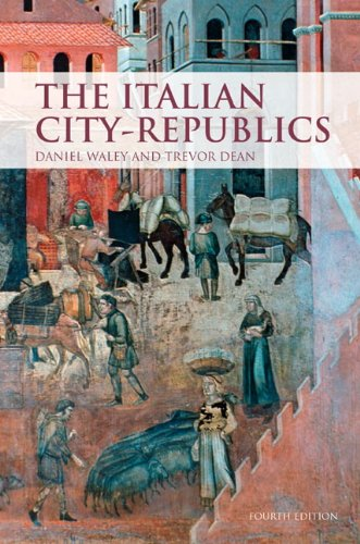 Italian City Republics  4th 2010 (Revised) edition cover