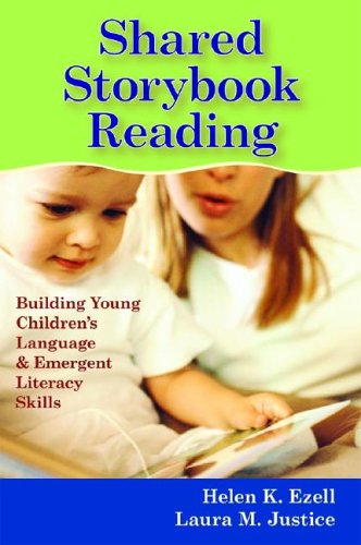 Shared Storybook Reading Building Young Children's Language and Emergent Literacy Skills  2006 edition cover