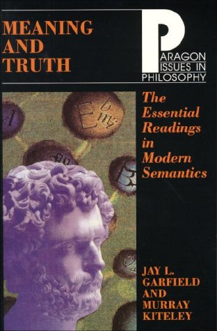 Meaning and Truth The Essential Readings in Modern Semantics  1998 edition cover