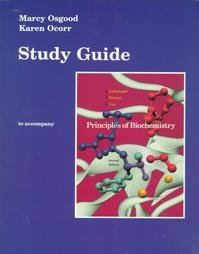 Principles of Biochemistry : Study Guide 2nd 1997 (Student Manual, Study Guide, etc.) 9781572591004 Front Cover