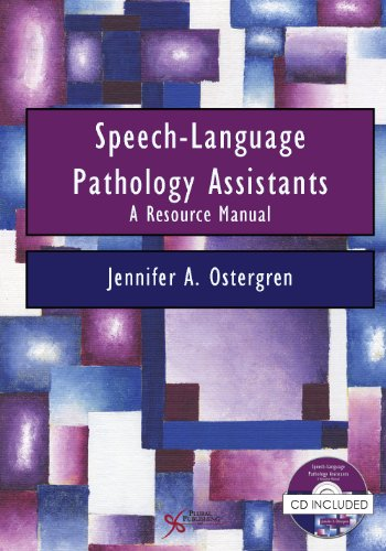 Speech-Language Pathology Assistants A Resource Manual N/A 9781597565004 Front Cover