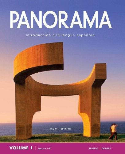 Panorama 4e Student Edition V1 (1-8)  4th edition cover