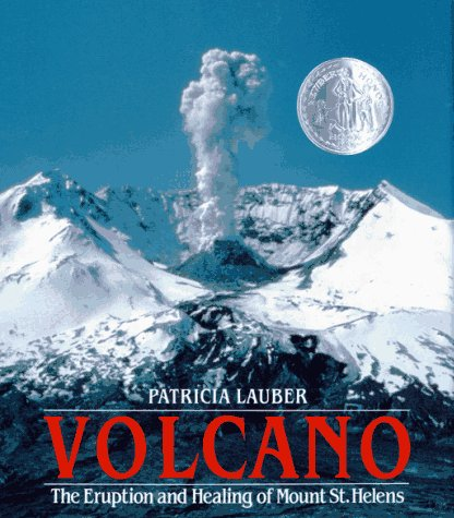 Volcano The Eruption and Healing of Mount St. Helens  1986 9780027545005 Front Cover