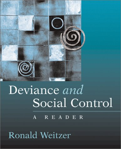 Deviance and Social Control A Reader  2002 9780072459005 Front Cover