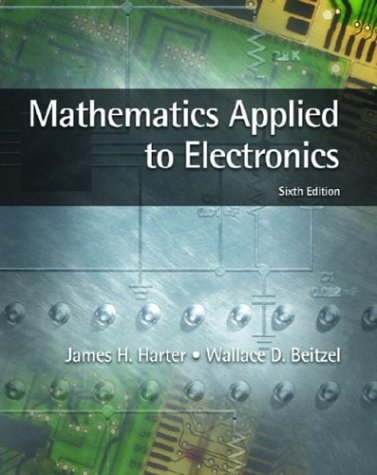 Mathematics Applied to Electronics  6th 2004 edition cover