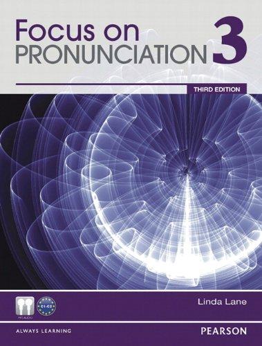 Focus on Pronunciation  3rd 2013 edition cover