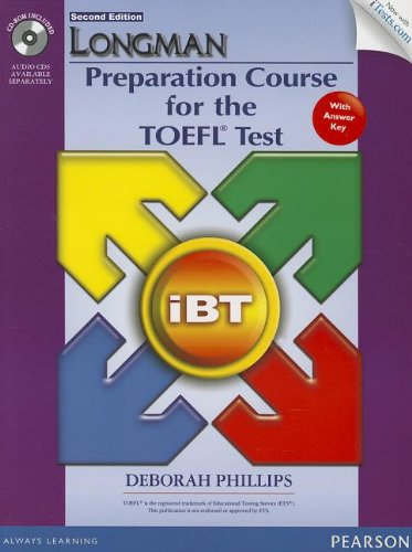 Longman Preparation Course for the TOEFL� Test  2nd 2013 edition cover