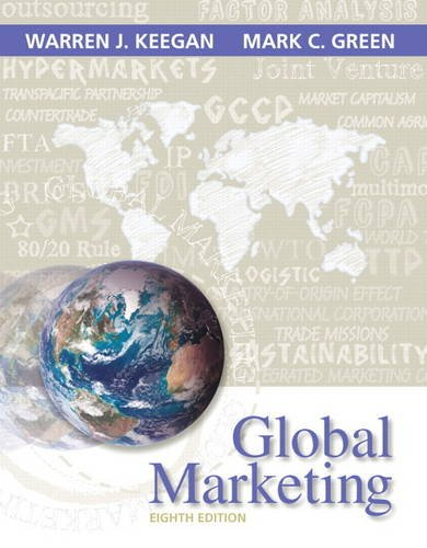 Global Marketing  8th 2015 9780133545005 Front Cover