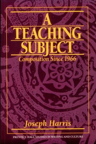 Teaching Subject Composition Since 1966 1st 1997 9780135158005 Front Cover