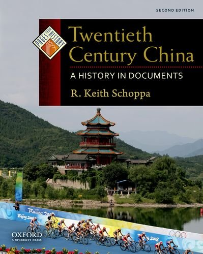 Twentieth Century China A History in Documents 2nd 2011 edition cover