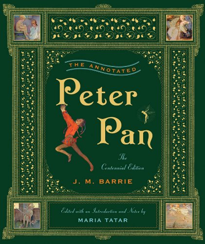 Annotated Peter Pan   2011 edition cover