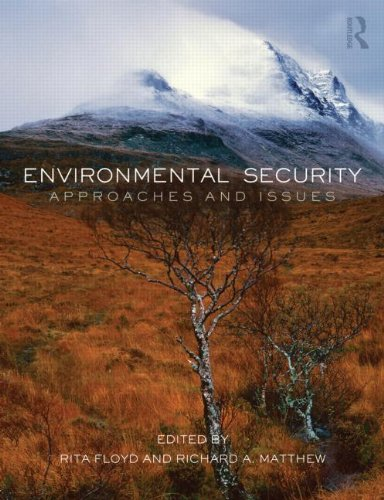 Environmental Security Approaches and Issues  2013 edition cover