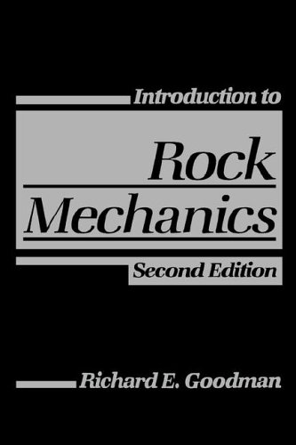 Introduction to Rock Mechanics  2nd 1989 (Revised) edition cover