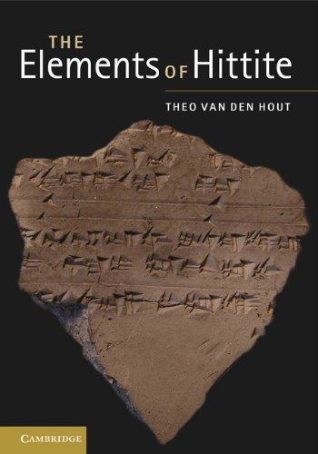 Elements of Hittite   2011 edition cover