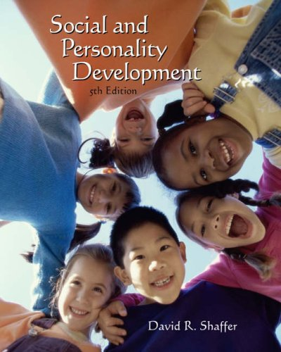 Social and Personality Development  5th 2005 (Revised) edition cover