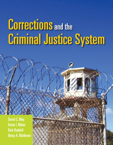 Corrections and the Criminal Justice System   2008 edition cover