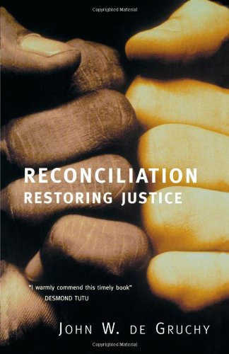 Reconciliation Restoring Justice  2002 edition cover