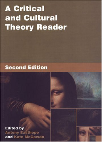 Critical and Cultural Theory Reader  2nd 2004 (Revised) edition cover