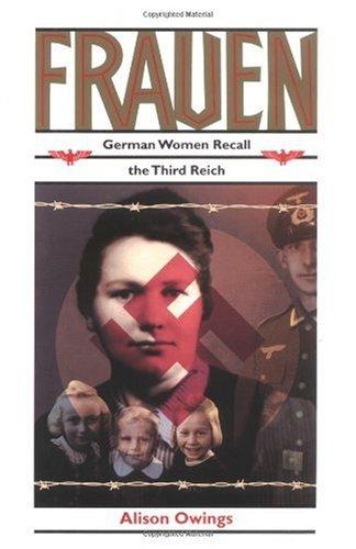 Frauen German Women Recall the Third Reich  1995 edition cover