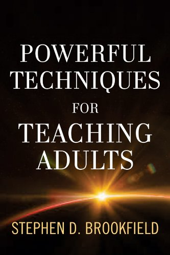 Powerful Techniques for Teaching Adults   2013 edition cover