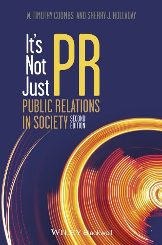 It's Not Just Pr: Public Relations in Society  2013 edition cover