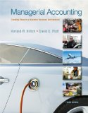 Managerial Accounting  10th 2014 edition cover